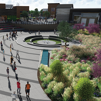 The Shops @ Terra Master Plan