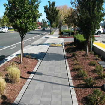Stevens Creek Sidewalk Renovation
