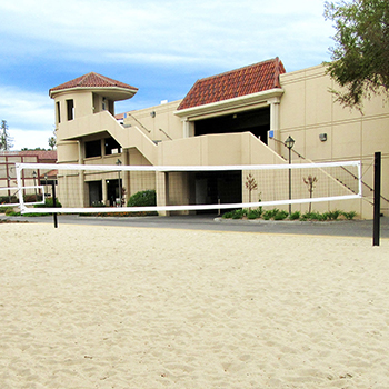 Santa Clara University Collegiate Volleyball Court